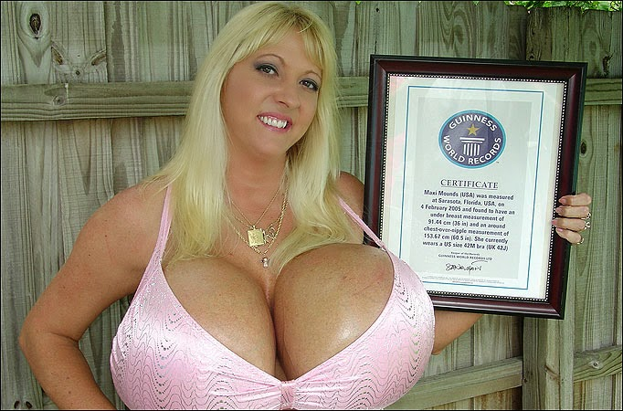 American women have biggest boobs in the world