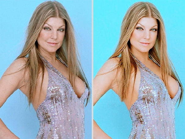 Fergie-Before-After-Photoshop