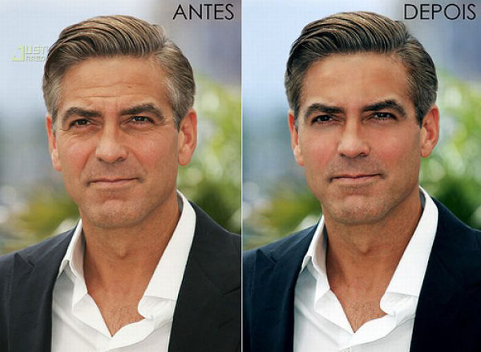 George-Clooney-Before-After-Photoshop