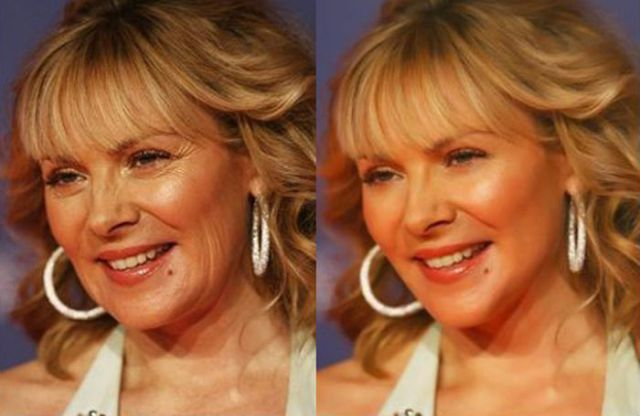 Kim-Cattrall-Before-After-Photoshop