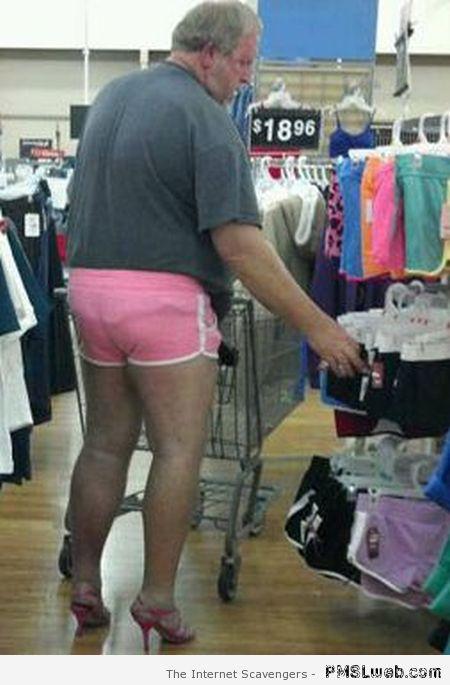 22-man-picking-sexy-shorts-in-walmart